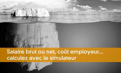 Salaire brut ou net, co�t employeur... calculez avec le simulateur