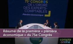 Résumé de la première « plénière économique » du 75e Congrès