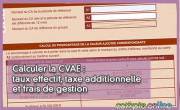 Calculer la CVAE : taux effectif, taxe additionnelle et frais de gestion