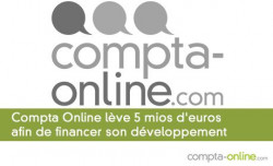 Compta Online lève 5 mios d'euros