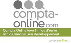 Compta Online lève 5 mios d'euros