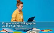 Programme et bibliographie pour l'UE5 du DCG