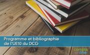 Programme et bibliographie de l'UE10 du DCG