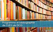 Programme et bibliographie de l'UE11 du DCG
