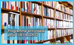 Programme et conseils pour l'UE1 du DCG