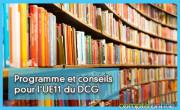 Programme et conseils pour l'UE11 du DCG