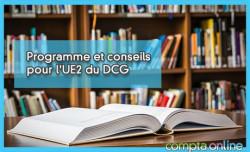 Programme et conseils pour l'UE2 du DCG