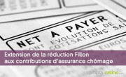 Extension de la réduction Fillon aux contributions d'assurance chômage