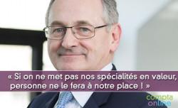 Gilbert Le Pironnec : « Si on ne met pas nos spécialités en valeur, personne ne le fera à notre place ! »