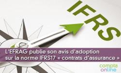 L'EFRAG publie son avis d'adoption sur la norme IFRS 17 « contrats d'assurance »