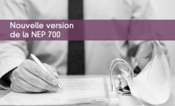 Nouvelle version de la NEP 700