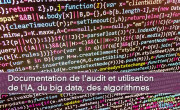 Documentation de l'audit et utilisation de l'IA, du big data, des algorithmes