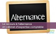 Le recours à l'alternance en cabinet d'expertise comptable