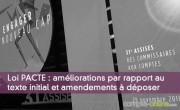 Projet de loi PACTE : améliorations par rapport au texte initial et amendements à déposer