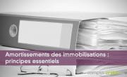 Amortissements des immobilisations : principes essentiels