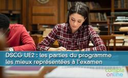 DSCG UE2 : les parties du programme les mieux représentées à l'examen