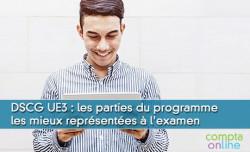 DSCG UE3 : les parties du programme les mieux représentées à l'examen