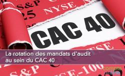 La rotation des mandats d'audit au sein du CAC 40