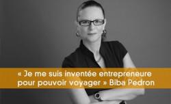 Entrepreneure pour voyager