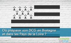 Où préparer son DCG en Bretagne et dans les Pays de la Loire ?