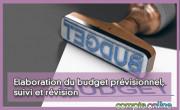 Elaboration du budget prévisionnel, suivi et révision