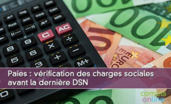 Vérification des charges sociales avant la dernière DSN