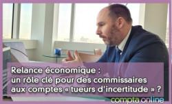 Relance économique : un rôle clé pour des commissaires aux comptes « tueurs d'incertitude » ?