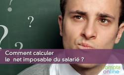 Calcul net imposable