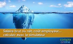 Salaire brut ou net, coût employeur... calculez avec le simulateur