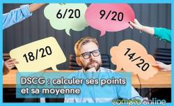 DSCG : calculer ses points et sa moyenne