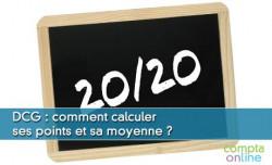 DCG : calculer ses points et sa moyenne