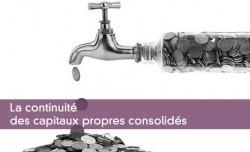 La continuité des capitaux propres consolidés
