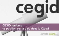 CEGID renforce sa position sur la paie Cloud
