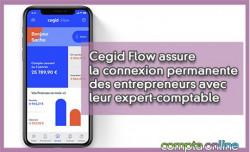 Cegid Flow assure la connexion permanente des entrepreneurs avec leur expert-comptable