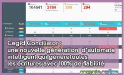 Cegid Conciliator : une nouvelle génération d'automate intelligent qui génère toutes les écritures avec 100% de fiabilité