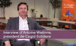 Interview d'Antoine Wattinne, président de Cegid Solidaire