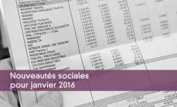 Nouveautés sociales pour janvier 2016