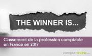 Classement de la profession comptable en France en 2017