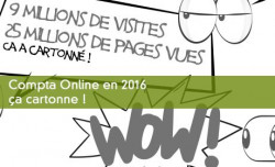 Compta Online en 2016, ça cartonne !