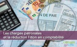 Les charges patronales et la réduction Fillon en comptabilité