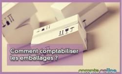 Comment comptabiliser les emballages ?