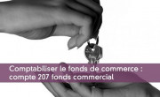 Comptabiliser le fonds de commerce