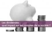 Comptabiliser les dividendes