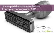 La comptabilité des associations à compter du 1er janvier 2020