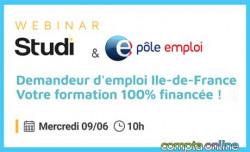 Bénéficiez d'une formation gratuite avec Comptalia et Pôle emploi Ile-de-France