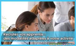 Recrutez vos apprentis : des modalités adaptées à votre activité
