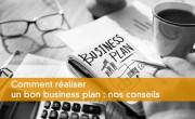 Conseils pour réaliser un business plan
