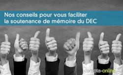 Nos conseils pour vous faciliter la soutenance de mémoire du DEC