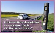Contraventions des salariés : un avantage soumis à cotisations sociales ?