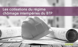 Chômage intempéries BTP